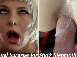 Stuck girl fucked