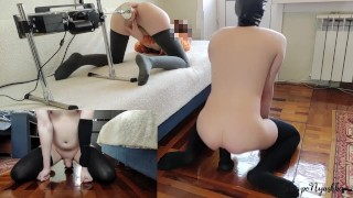 Ride this dildo until i have an orgasm