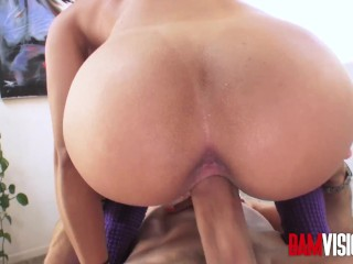 Holly Hendrix's Anal Fantasy Fulfilled By Big Dick Mick Blue