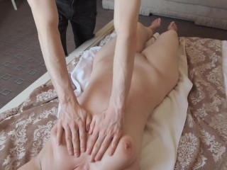 StepMom didn't want me to do a full body massage at my masseur