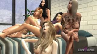 I Fuck My Five Horny Girls, Make Everyone Enjoy - Sexual Hot Animations