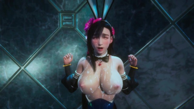 Lustful Bunny Girl Tifa Passionate Sex