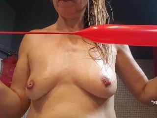 Nipple insertion porn