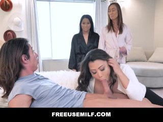 Freeuse Milf - New Porn Series By Mylf - Reverse Gangbang Trailer