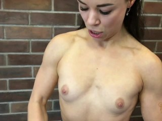 Miss Julia - Wash my Pumped Chest with your Cum (Full clip on DreamscUmtrue C4S, MV, IWC)