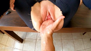 double fisting , destroy pussy for my stepdaddy, massive squirting 3 time,thanks stepdaddy -4k 60fr-