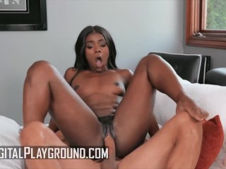 DigitalPlayground – Ana Foxxx Speaks About Herself Before Getting Her Pussy Fucked By Johnny Castle