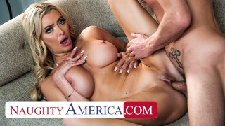 Naughty America - Newly single MILF, Linzee Ryder, rides the first dick she see's after divorce