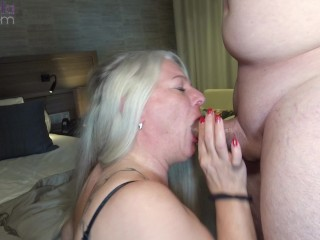 My asshole is there to be fucked! Hard ass, mouth and pussy fuck by a fan!