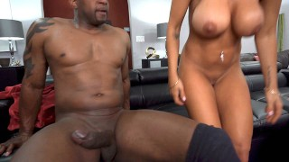 Busty MILF Kayla Kayden Wants Anal Sex And Dp With Gardeners' Big Black Cock