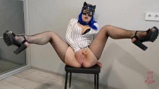 Hot Teacher In Stockings Seduces Her Student.