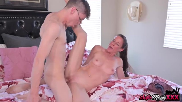 Stepmom Sofie Marie Gives Stepson Her Asshole To Fuck Deeply
