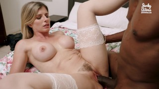 Cheating Wife Takes her First BBC Creampie - Cory Chase