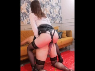 Ass fuck for stupid sissy slut full clip on my Onlyfans (link In bio)