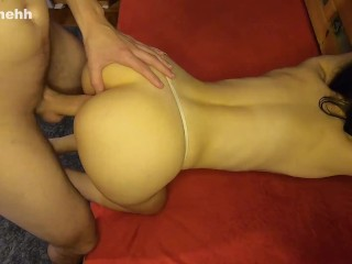 Petite Babe Getting Fucked in Doggy Style Part 2 - Amateur Couple Sassymehh