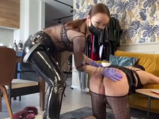 Fucking asshole bitch slave- full clip on my Onlyfans (link in bio)