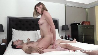 New MILF Jessie James Has First Sex On Camera Taking A Big Dick And Facial - Hot MILFs Fuck