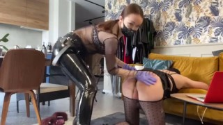 Asshole bitch for Mistress- full clip on my Onlyfans (link in bio)