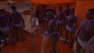 Cleopatra Cumslut 3D Part 3/F