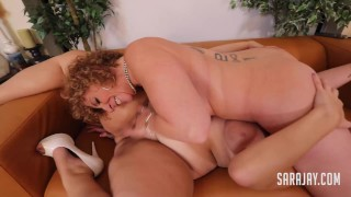 Insatiable Sara Jay Face Sits Hot Pussy Licker Fit Sidney!