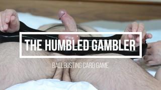 Humbled Gambler - Nurse Myste - Ballbusting CBT Femdom Card Game