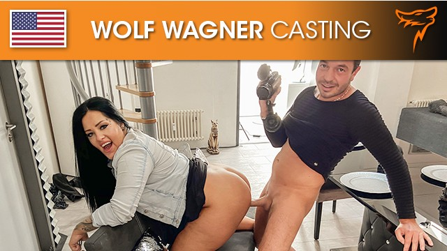 AshleyCumstar enjoys a German dick in her fat pussy! Wolf Wagner Casting