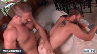Men - Two Buff Friends Colby Jansen & Dirk Caber Fuck Each Other's Ass