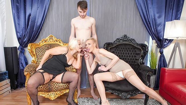 CFNM - Mature Bitches Playing with my Meat Stick