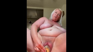 Ugly step sis with pumped up pussy fucks monster can