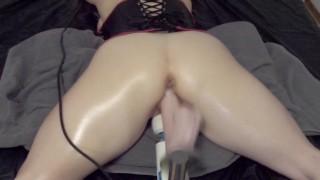 BDSM fucking machine - Big dildo - Multiple Orgasms