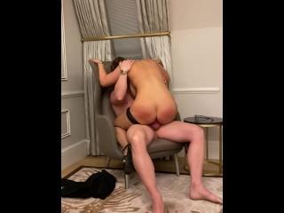 RIDING HIS COCK UNTIL HE FLOODS ME WITH CUM XXX