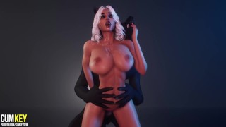 Werewolf Furry Mating with juicy Pussy | Big Cock Monster | 3D Porn Wild Life