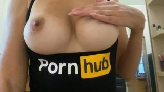 Pornhub model fucks ass and masturbates