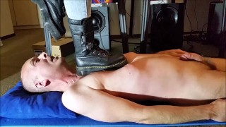 ;Mistress torment and trample her Slave with Doc Martens Boots (Trailer)