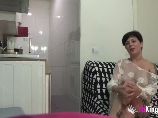 Big titted housewife looks for sex behind her husband's back