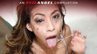 EvilAngel - The SLOPPIEST Deepthroats & Face Fucks Compilation Pt 2