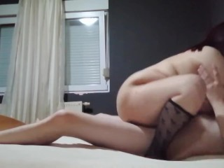 Chubby wife fuck with stranger