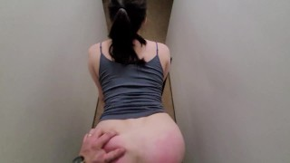 girl spanked hard and fucked red ass