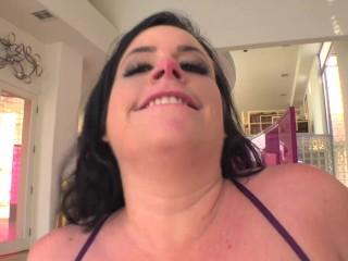 Curvy Virgo Peridot Gets Big Cock Up Her Huge Ass