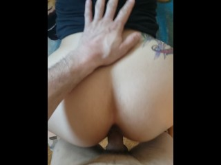 Latina girlfriend sucks cocktail and takes i pounding from behind