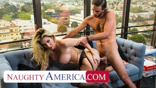 Naughty America - Badass boss babe Kayla Paige has her way with an employee she never even knew work