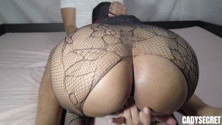 Thick Latina Swallows Daddys Cum for the First Time while parents are in the other room-CADYSECRET