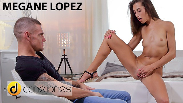 Dane Jones French nymph Megane Lopez passionate oral hard fuck and creampie