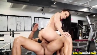 Rachel Starr in Gym and Pussy Juice from Reality Kings