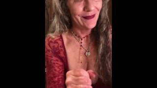 22nd PLACE❤️🔥MILF MANIA CONTEST! Deepthroat POV Eye Contact Sensual BJ CIM