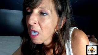 Sexy Granny Oral Service Performed She Swallows