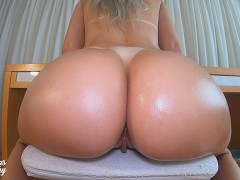 Covering My Ass And Pussy With Oil - MYSTERIOUSKATHY 4K