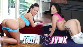 BANGBROS - Battle Of The GOATs: Jada Stevens VS Jynx Maze