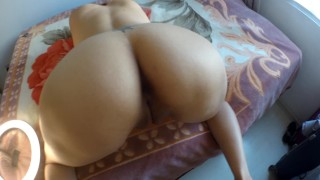 Real homemade Stepmom Alice enjoy Cock in Doggy style