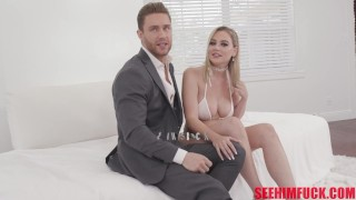 Sam Shock And His Perfect Male Body Get Pampered By Busty Blonde Blake Blossom